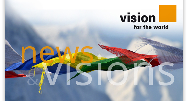 Der neue Newsletter von Vision for the World e.V.