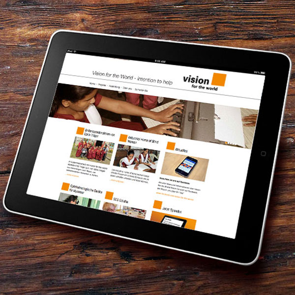 Homepage, Vision for the World